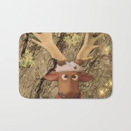 Funny Moose Bath Mat