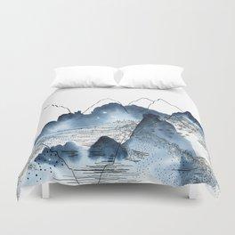 Love of Mountains Duvet Cover