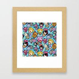 Harajuku Love Framed Art Print