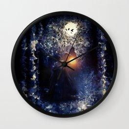 The Necromancer, by Paul Kimble & Viviana Gonzalez Wall Clock