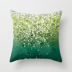 Glitteresques XII Throw Pillow