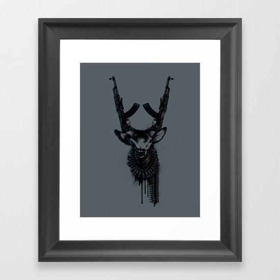 Wild Weapon Framed Art Print