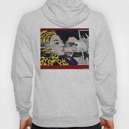 """Roy Lichtenstein's """"In the car"""" & Marcello Mastroianni with Anita Ekberg Hoody"""