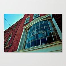 Window Through The Past Canvas Print