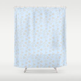 Geo Joy Shower Curtain