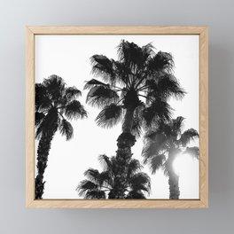 Palm Tree Art Print {3 of 3}   B&W Topical Beach Plant Nature Vacation Sun Vibes Artwork Framed Mini Art Print