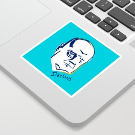 Jean Sibelius (3) Sticker