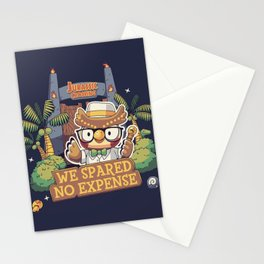 No expense Blathers Animal Crossing Stationery Cards