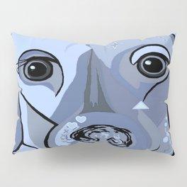 Dachshund in Blue Pillow Sham