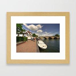 Henley Bridge  Framed Art Print