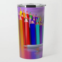 time to draw a picture -3- Travel Mug