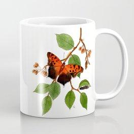 Questionmark Butterfly Coffee Mug