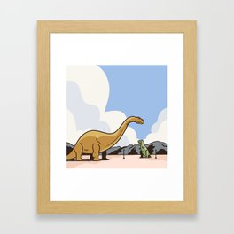 Cabazon Dinosaurs Framed Art Print
