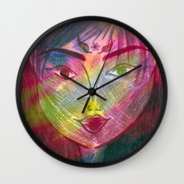 Daughter of the Mirror Wall Clock