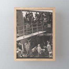 Alfred Stieglitz - The Steerage (1907) Framed Mini Art Print