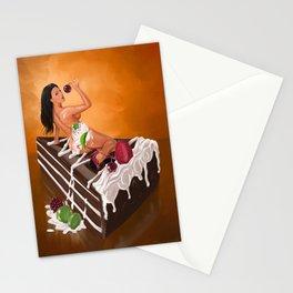 Sexy Cake Stationery Cards