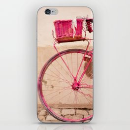 Lady in Pink iPhone Skin