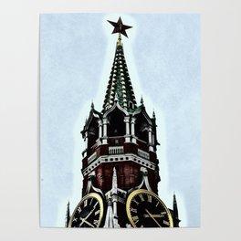 Kremlin Chimes-dramatic Poster