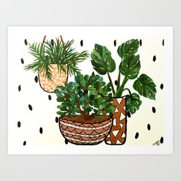 Planted & Dashed Art Print