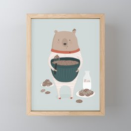 Maxwell's Midnight Snack Framed Mini Art Print