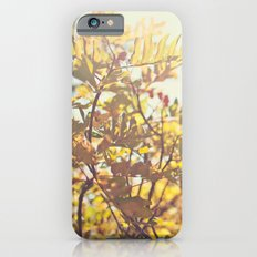 Fading Fall Leaves Slim Case iPhone 6s