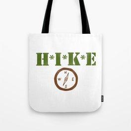 Hike Camp Adventure Tote Bag