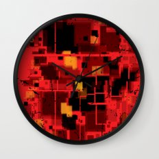 Abstract Composition #4 Wall Clock
