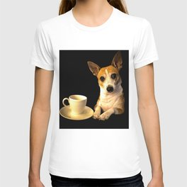 Tea Time with Puppy T-shirt