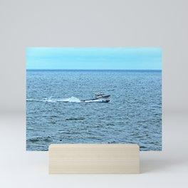 Sweet Deal Races into the Harbour Mini Art Print