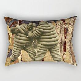 Chaos & Decay Rectangular Pillow