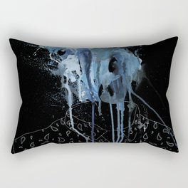 Thousands of faces, none of which I know Rectangular Pillow