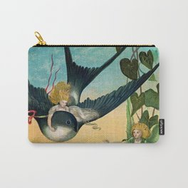 """""""Born on the Swallow's Back"""" by Eleanor Vere Boyle Carry-All Pouch"""