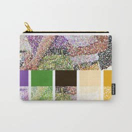 Color You Into My Life Carry-All Pouch