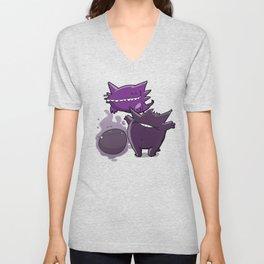 Pokémon - Number 92, 93 & 94 Unisex V-Neck