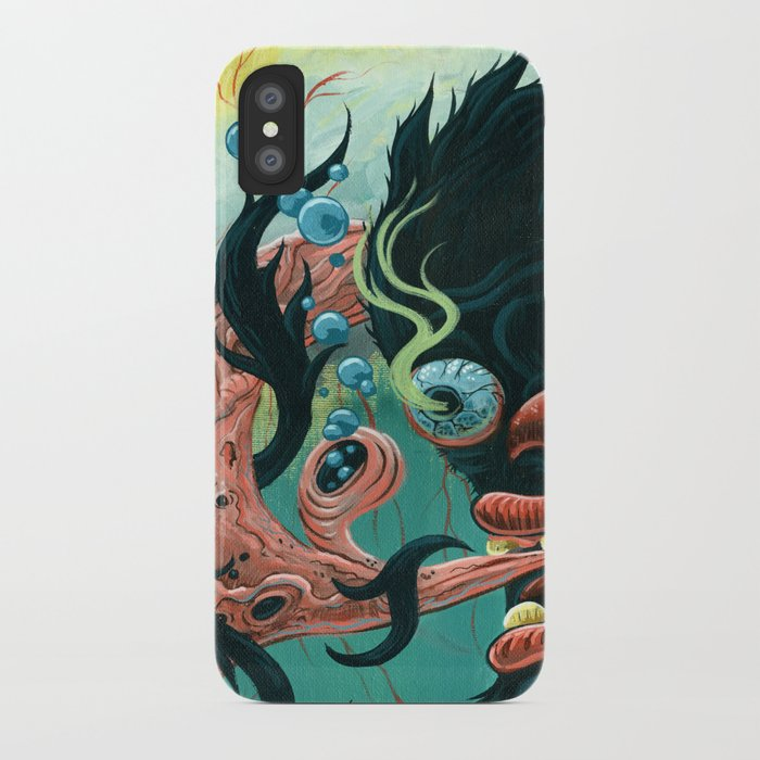 Guardian of the Bubble Pipes of Creation iPhone Case