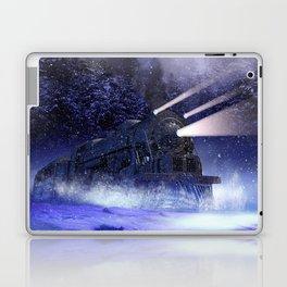 Snowy Night Train Laptop & iPad Skin