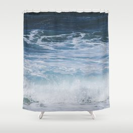 Ocean waves from the depths of the stars Shower Curtain