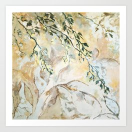 nature is a great muse Art Print
