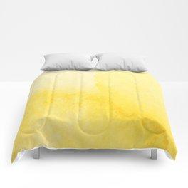 Sunshine Watercolor Comforters