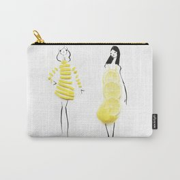 Edible Ensembles: Yellow Lemon Carry-All Pouch