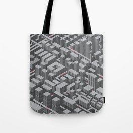 Brutalist Utopia Tote Bag