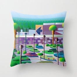Silicon Vallee Throw Pillow