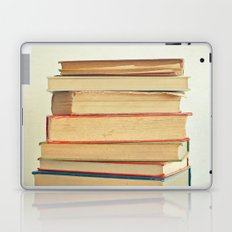 Stack of Books Laptop & iPad Skin