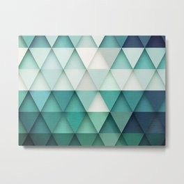 TRIANGULAR II Metal Print