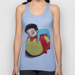 Baby Alden and His TSUMTSUM Unisex Tank Top