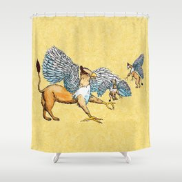 Griffins Family  Shower Curtain