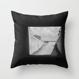 There is nothing and it is there all the time Throw Pillow