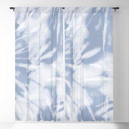 blue grey soft tie dye Blackout Curtain