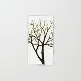 WHITE TREE Hand & Bath Towel