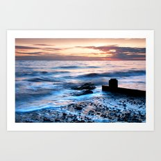 A gentle tide Art Print